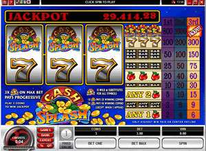 Cash Splash Slot Game